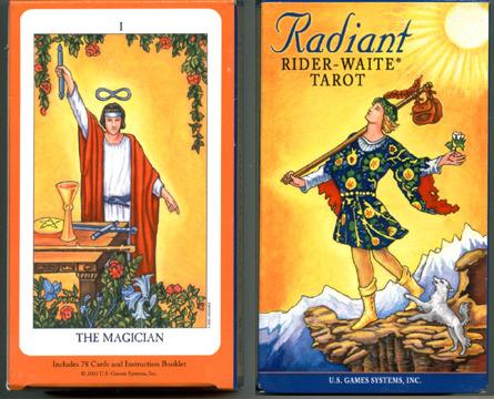 莱德伟特塔罗牌 (粉彩版) radiant rider-waite
